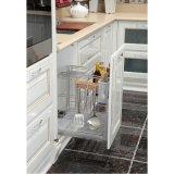 Oppeinホワイトラッカー高品質のキッチン食器棚(OP14-024)