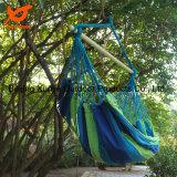 Hangend Katoenen van de Boom van het Terras van de Werf van de Schommeling van de Stoel van de Hangmat van de Kabel Openlucht Stevig Hout