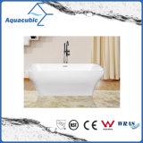 浴室の正方形のアクリルの支えがない浴槽(AB1514W)