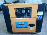 Hy6500s 5kw 침묵하는 디젤 엔진 발전기