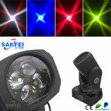 販売のための中国の製造業者4*25W LEDの極度のビーム移動ヘッド照明