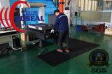 台所または食品加工領域のワーク・ステーションの通りがかり冷却装置のための犬骨の排水のゴム製マット