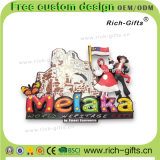 Cadeaux promotionnels de produits de souvenir de cadeaux d'aimants de réfrigérateur de PVC pour la Malaisie (RC-MA)