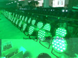 54 * 3 RGBW LED Stage PAR pode acender com Beam Moving Head Lighting Effects