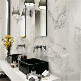 Mattonelle di pavimento di marmo bianche di Calacatta di vendite calde