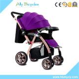 Doe leunen de Wandelwagen van de Baby van de Zetel met Umbrellar/de Compacte Vouwende Carrier van Jogger van de Baby