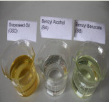 Empalidecer - o benzoato Benzyl líquido amarelo (BB) para o solvente orgânico Oap-015 incolor