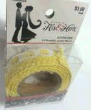 Nastro appiccicoso della grondaia del nastro di Deco del fabbricato del merletto bianco adesivo del cotone