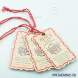 高品質のこつの札の/Paperの品質表示票またはファブリック品質表示票または衣服のラベル