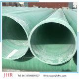 GRP FRP Tubo de esgoto Tubo de água residual Tubo de gás