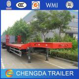 中国の安い価格3の車軸低いベッドのトラックのトレーラー