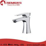 Faucet Polished da bacia da alavanca da alta qualidade nova do projeto 35mm único (ZS81603)