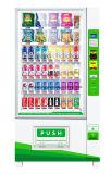 Ascensor Máquina expendedora automática de bebidas y frutas con Bill Acceptor 9g