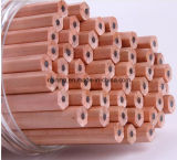 Новый естественный деревянный карандаш Hb 2017 с Non сломленным руководством