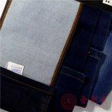 """58/59 """" di tessuto blu scuro del denim dello Spandex del poliestere del cotone"""