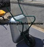 Одно колесо оцинкованный лоток Тачка Wb624