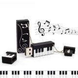 Elektronische Orgel Kurbelgehäuse-Belüftungusb-Blitz-Laufwerk Custoimzed Klavier-Musik-Karikatur