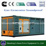 Gerador do gás do motor do biogás de Cummins de 10kw a 600kw