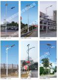 Lâmpada de rua solar do diodo emissor de luz da alta qualidade, iluminação 15W-160W da estrada