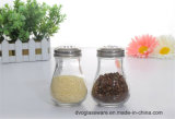 Spice di vetro Jar con Stainless Steel Lid