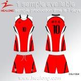 Disegni dell'uniforme di pallavolo di autunno dei fornitori di Healong