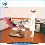 Cama elétrica de entrega de ginecologia obstétrica