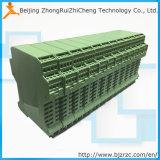 D249 Lärm-Schiene programmierbarer 4-20mA PT100 Temperatur-Übermittler