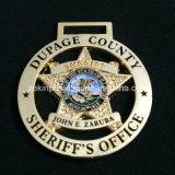 Policía del sheriff y medallas de encargo de la universidad para las recompensas