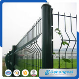 Cerca decorativa revestida do engranzamento de fio do ferro feito do PVC da quantidade elevada