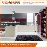 Gabinete de cozinha elevado da laca do lustro de Hangzhou Aisen