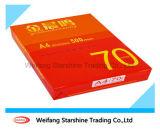 бумага экземпляра 70-80GSM A4 для печатание с высоким качеством