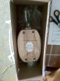 Tipo bloque de JIS de polea de madera de la polea acanalada del doble con el ojo
