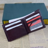 Sale caldo Chrome Oil Leather Wallet per Men