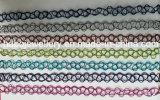 Tätowierungchoker-Halsketten-/Fisch-Draht-Halsketten-Form-Schmucksachen (XJW13521)