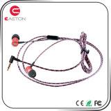 Écouteur stéréo en métal d'écouteur d'écouteur avec la MIC