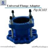 Fig. couplage de chemise mécanique de pipe en acier de Sc105