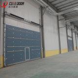 De moderne Chinese Commerciële Industriële Sectionele Glijdende LuchtDeur van het Blind van de Garage Binnenlandse