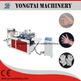 Máquina de fabricação automática de luvas de plástico PE