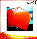 подогреватель принтера силиконовой резины 3D 24V 350W 250*250*1.5mm