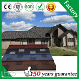 Tetto rivestito dell'assicella delle mattonelle di tetto del metallo della pietra calda di vendita dell'Africa del magazzino della Nigeria