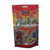 Saco de pé do empacotamento plástico para o alimento de animal de estimação