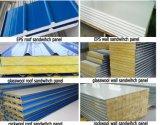 Verwendetes Feuer-Isolierungs-gewölbtes Felsen-Wolle-Zwischenlage-Panel