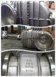 """Запорная заслонка нержавеющей стали Dn80 Class150 литой стали API600 (Z41W-150LB-3 """")"""