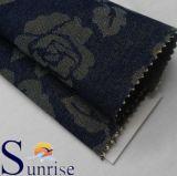 Dril de algodón polivinílico de Jarquard del algodón con Lurex (SENIORES 622)