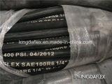 Шланг гидровлического шланга резиновый гидровлический для SAE R3