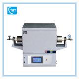 Oven van de Buis van het Korund van het laboratorium 1700c de Compacte met het Verwarmen van 170mm Streek CY-T1700-50its