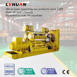 Generador refrigerado por agua aprobado del biogás del Ce chino de la marca de fábrica