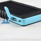 iPhone를 위한 10000mA Waterproof Portable Power 은행 Solar Charger