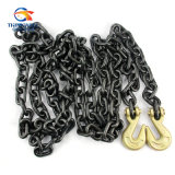 Alliage Steel G80 Noir-Tempered Binder Chain avec Clevis Hook