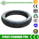 100/80-17 neumático del neumático sin tubo del tubo de la motocicleta